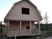 Дом из бруса Алексей 6х6  с установкой в Витебской области