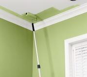 Покраска стен/потолка в квартире/помещении обои под окраску